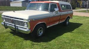 Classic 1974 Ford F-100 XLT Ranger Pickup For Sale #4274 - Dyler 1974 Ford F100 Truck Slvr Youtube F250 Brush Fire Truck Item 7360 Sold July 12 Fseries Pickup History From 31979 Dentside Is Ready To Surf Fordtruckscom View Awesome For Sale Elisabethyoungbruehlcom For Sale Near Las Vegas Nevada 89119 Classics On Classic Cars Sold Affordable Colctibles Trucks Of The 70s Hemmings Daily Questions Can Some Please Tell Me Difference Betwee