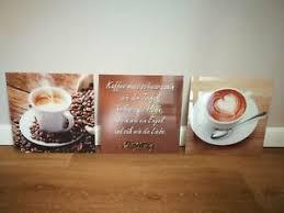 glasbild kaffee ebay kleinanzeigen