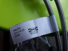 ikea insjön mischbatterie sensor wasserhahn defekt 303 419 03