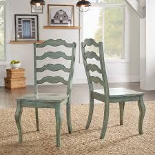 Eleanor French Ladder Back Wood Dining Chair (Set Of 2) By INSPIRE Q ... Warm Nordic Gesture Chair Annie Mos Ding Fniture Collection Of Leather Fabric Greenwich Sage Green Velvet Stripe Chairs Serene Room Ideas Better Homes And Gardens Maddox Crossing Blue Set Mobel Oak Full Back Upholstered Pack Two Beige Fabric Upholstered Ding Chair Come With Black Stained Wood Dhi Nice Nail Head 2 Multiple Colors 3 Mustard Yellow Chairs Matching The Ceiling Pale Sage 4 X Vintage Teak Danish Influence By Meredew Re