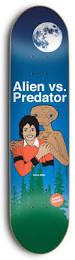 Cheap Skate Mental Decks by Skate Mental Alien Vs Predator Skateboard Deck 8 25