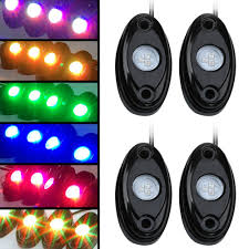 9W High Power 4pcs RGB Multi Color LED Rock Lights Kit For Jeep ... 2005 Jeep Tj Rubicon 57l Truck Hemi 545rfe Ca Emissions Legal Kit Mpc Jeep Commando Mountn Goat 125 Scale Model Car Truck Kit New Wrangler Pickup Cversion Exceeds Mopars Sales Expectations Making Your Own Survival Camper Adventure Carchet Universal Winch Wireless Remote Control 12v 50ft For Omurtlak76 Puts 5499 Price Tag On Jk8 For 4x4 Honcho Original 7313 Revell Opened Kits Zone Offroad 412 Suspension System J29n