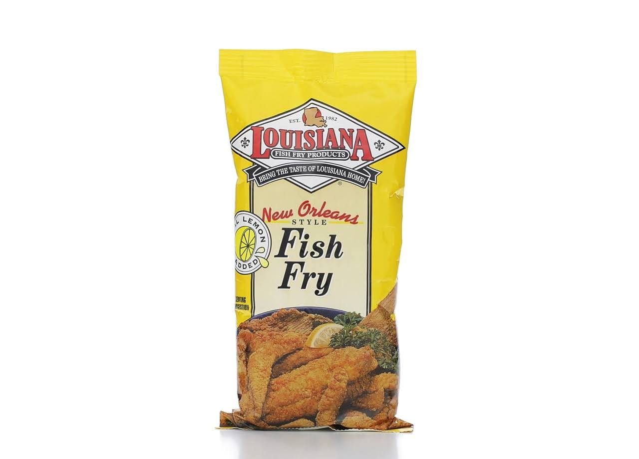 Louisiana New Orleans Style Fish Fry Seafood Breading Mix - 10oz