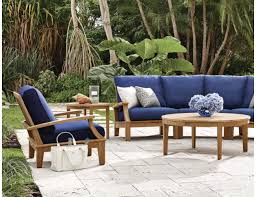 Gensun Patio Furniture Cushions by Gloster Ventura Teak Reclining Lounge Chair 220