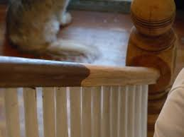 Hazardous Design: Refinishing The Stairs Part 2: (Or How I Fixed A ... Java Gel Stain Banister Diy Projects Pinterest Gel Remodelaholic Stair Makeover Using How To A Angies List My Humongous Stairs Fail Kiss My Make Wood Stairs Treads For Cheap Simply Swider Stair Railing Cobalts House Staircase Reveal Cut The Craft Updating A Painted With An Ugly Oak Dark All Things Thrifty 30 Staing Filling Holes And