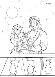 Coloring Page About The Beauty And Beast Disney Movie Nice Drawing Of Prince Adam For All Girls Who Love