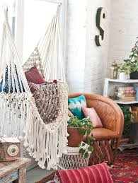 Knotted Melati Hanging Chair Natural Motif by How To Make A Swinging Hammock Chair Hammock Chair Macrame