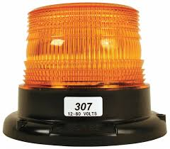 100 Strobe Light For Trucks TRUCK LITE CO INC Low Profile Amber Flashing 5LLG1