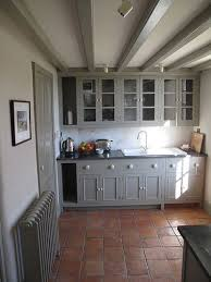 pennant chapel grey cupboards terracotta and modern country