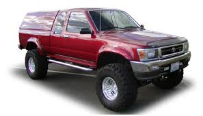 Bushwacker Fits 89-95 Toyota Pickup (31016-01) Extend-A-Fender ... Egr Ford F250 82009 Bolton Style Fender Flares 24 Stainless Steel Quarter Kit W Rolled Edge Elite Truck 15 16 17 Colorado Canyon Wheel Well Flare Stainless Fender Trim 891995 Toyota Pickup Ivan Dan Fenders And Hood Kit 4 Universal Rear Single Axle Half Circle 0918 Ram 1500 Truck Chrome Molding Chevy Silverado 8899 Right Primered Primed New Bushwacker 3102011 Cout 8995 Dr1432 14 By 32 Double Radius Mild Guard Mr 2pcs Shark Gills 3d Vent Air Flow Chrome Alloy Metal Sticker Fits 31601 Extafender