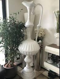 schaufenster deko riesen karaffe mit perlen 200cm hoch