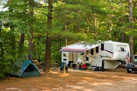 The 203 Site Campground Is Located On Shore Of White Lake With Some Best Swimming In Mountain Region Pets Are Not Allowed