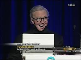 Roger Ebert With Wife Chaz Reading From Life Itself A Memoir 2011