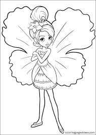 Barbie Coloring Pages For Kids Games