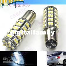 powerful car led light dc 12v white stop car bulb brake light