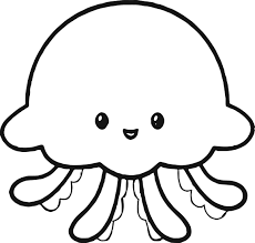 2281x2166 Cute Crab Coloring Jellyfish Page Wecoloringpage