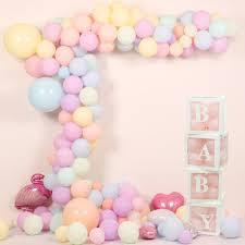 Cupcake Balloon Tassel Birthday Party Box