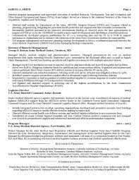 Military Resume Samples Amp Examples For