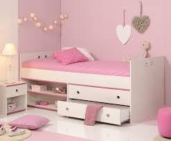 schlafzimmer 2 tlg inkl 90x200 stauraumbett smoozy 24b parisot kiefer weiss pink