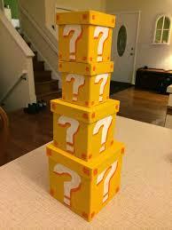 free printable super mario brick blocks mario bros party ideas