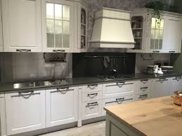 White Cabinets Dark Gray Countertops by Tiles Backsplash Kitchen White Cabinets Dark Backsplash Black