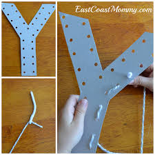 East Coast Mommy Alphabet Crafts Letter Y