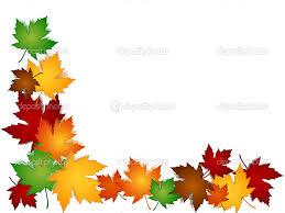 Autumn Border Clip Art