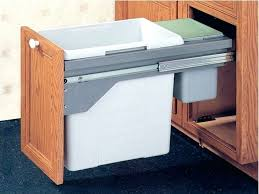 Under Cabinet Trash Can Pull Out by Do Or Diy How To Make A Pull Out Trash Cabinet Under The Sink