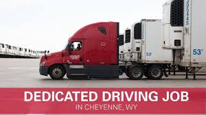 Dedicated Trucking Job In Wyoming - YouTube