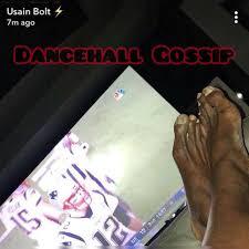 100 7m To Feet Athlete Usain Bolts Dry Photo Causes Social Media