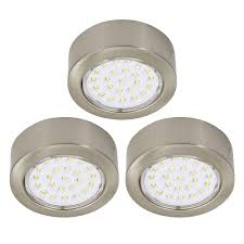 it kitchens mains powered cabinet light pack of 3 cabinet lighting