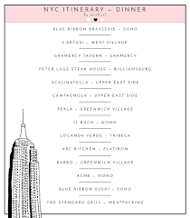 Bathtub Gin Nyc Yelp by Tsc Itinerary The Real Way To Do New York City