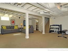 Cheap Diy Basement Ceiling Ideas by Best 25 Exposed Basement Ceiling Ideas On Pinterest Basement