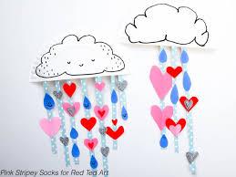 Super Cute Paper Plate Rain Cloud