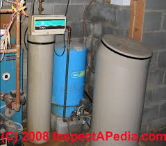 Water Softeners operation maintenance adjustment and water