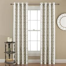Bed Bath And Beyond Canada Blackout Curtains by White Grommet Blackout Curtains Home Expressions Norris 2pack