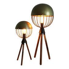 Holden Surveyors Floor Lamp In Mahogany floor lamps tripod u0026 copper lamps temple u0026 webster