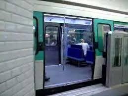 Paris Metro Platform Edge Doors