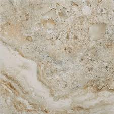 American Marazzi Tile Denver by Marazzi Imperial Slate 12 In X 12 In Tan Ceramic Floor And Wall