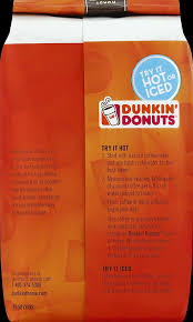Dunkin Donuts Pumpkin Cold Brew by Amazon Com Dunkin U0027 Donuts Coffee Original Blend 12 Ounce