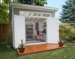 Contemporary Living Ideas Using Backyard Sheds
