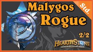 malygos rogue deck hearthstone malygos rogue 2 2 hearthstone decks standard 2016