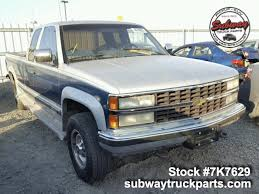100 Chevy Silverado Truck Parts Used 1991 Chevrolet 2500 57L 4x4 Subway