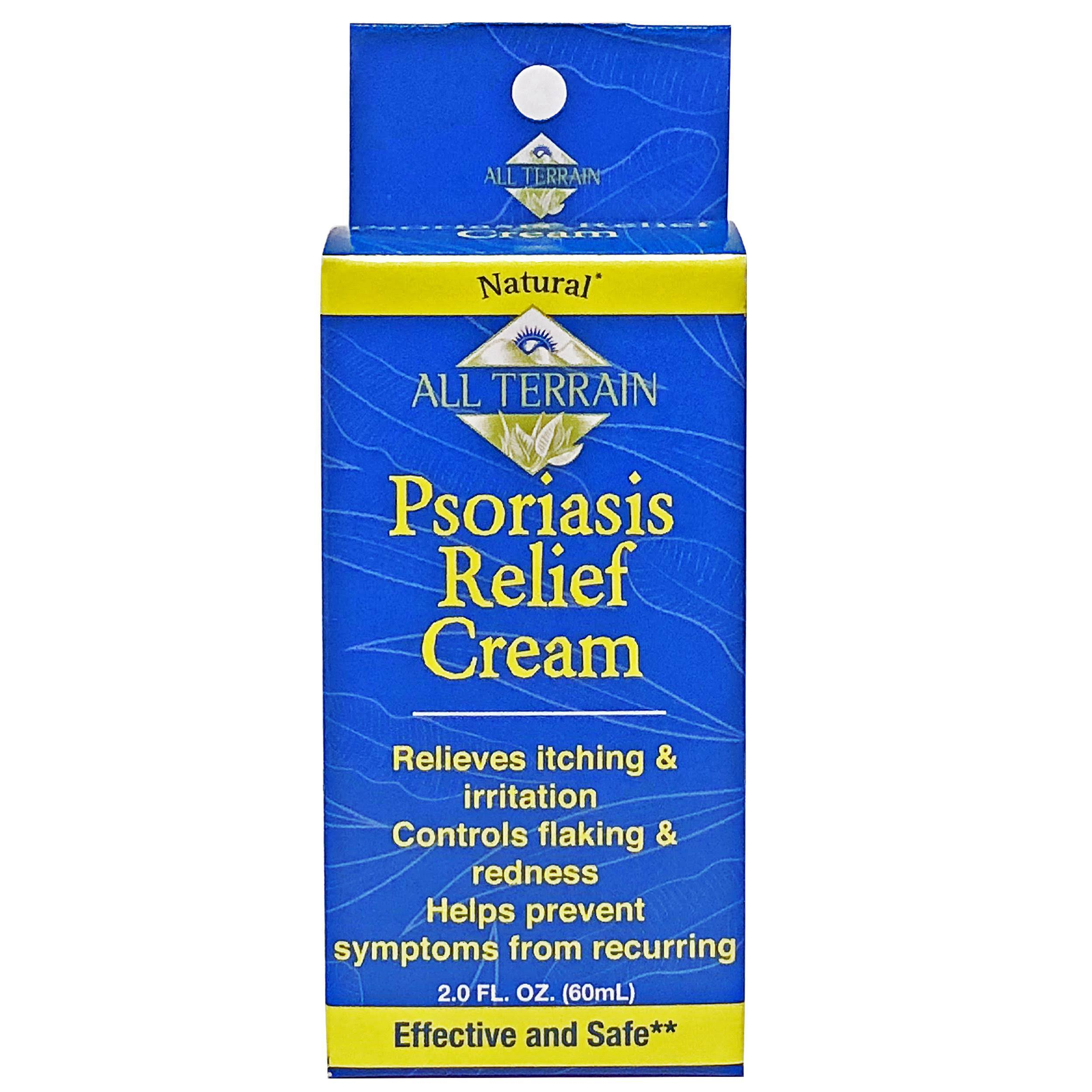 All Terrain Psoriasis Relief Cream - 2oz