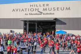 Airport Runway Run San Carlos Airport 2K 5K 10K Hiller Aviation Museum