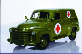 1:18 Mira Chevy Panel Truck '50 Military Ambulance – Cameron's Model ... Military Appreciation Truck Rocky Ridge Stars Strips 2003 Chevrolet Silverado Crew Cab Military Pickup 4x4 G Wallpaper 1986 K5 Cucv Blazer M1009 M1008 M35a2 M35 Must See Cucv Blazer How Could You Go Wrong With A Issued Us Army Tests The Worlds Most Quiet Vehicle Chevy Trucks Home Facebook This Super Silent Hydrogenpowered Zh2 Is The Armys 1985 Coopers And Accsories Llc From Dodge Wc To Gm Lssv Trend Month 10 Things You Didnt Know 3bl Media A Look At Militaryequipped Civilianmade Vehicles Motor 200406 Wallpapers 2048x1536