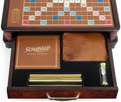 Standard Scrabble Tile Distribution by Winning Solutions Scrabble Luxury Edition Board Game Focus Camera