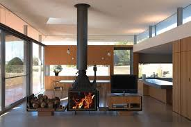 100 Wardle Architects John Kyneton House Australian Fireplace