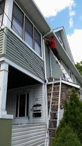 How To Install Vinyl Gutters: 13 Steps (with Pictures) - WikiHow Recommended Gutters For Metal Roofs Scott Fennelly From Weathertite Systems Are Wooden Rain Taboo Fewoodworking Douglas Mi Project Completed With Michael Schaap Owd Advice On And Downspouts Diy Easyon Gutterguard Installing Corrugated Metal Roof Youtube Guttervision Pictures Videos Of Seamless Gutters A1 Gutter Pro Beautiful Cost A New Roof Awful Rhd Architects Hidden Gutter Detail Serock Jacek Design Ideas Interior Hydraulic Cross Cleaner Barn Paddles