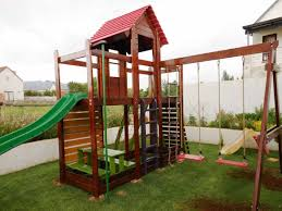 Benny's Creative Woodworkz - Benny's Creative Woodworkz - Jungle Jungle Club Gym In The Backyard Of Kindergarten Stock Image Online Chalet Swing Playground Accsories Boomtree Multideck Sky 3 Eastern Great Architecturenice Backyards Fascating Plans Fort Firemans Pole Superb Gyms Canada Tower 12ft Swings With Full Height Climbing Ramp Picture With Fabulous Childrens Outdoor Play Ct